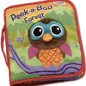 Books for baby on airplane - Peek-a-Boo Forest