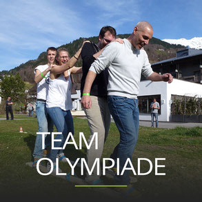 Teamolympiade als Firmen Incentive
