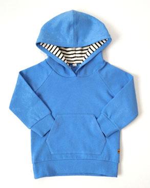 Kapuzenpulli blau