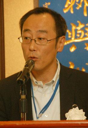 経済講演の商工中金木戸口昌己支店長