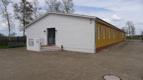 Hauptausstellungsgebäude der Gedenkstätte Lager Sandbostel. Foto: A. Ehresmann, 30.4.2013