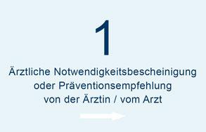 Kostenerstattung durch Krankenkasse - Schritt 1 - Terminvereinbarung telefonisch, per E-Mail oder per Kontaktformular