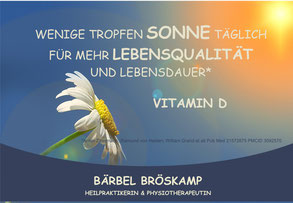 Vitamin D - Beratung und Therapie