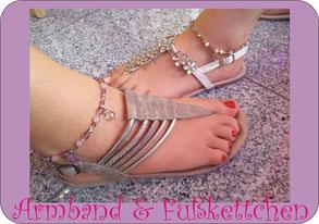 Junggesellinnenabschied Workshop Event Duesseldorf Armband & Fußkettchen