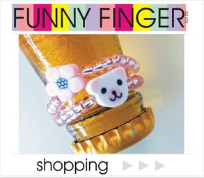 Zum Shop: Ringe Perlenringe FUNNY FINGER