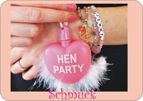 Hen Party feiern mit Schmuck Workshop in duesseldorf