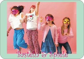 Kindergeburtstag feiern Basteln Spiele ELA EIS in Düsseldorf