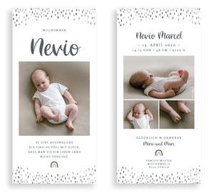 Geburtskarte Geburtsanzeige kartendings.ch Schweiz
