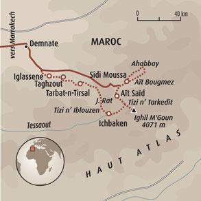 trek atlas marocain