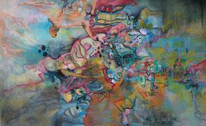 Silvia Brockfeld: Carmina Burana, ÖSilvia Brockfeld: Carmina Burana, Öl Auf Leinwand, 100 x 160 cm, 2016Silvia Brockfeld: Carmina Burana, Öl Auf Leinwand, 100 x 160 cm, 2016l Auf Leinwand, 100 x 160 cm, 2016