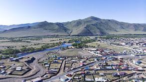 Le village de Gachuurt en Mongolie