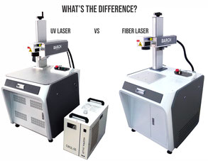 Caption:  Whats the difference between a UV laser and a fiber laser?