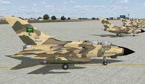 . <<<<<<<<<<-Base navale King AbdulAziz à Al Jubail.  Ci-dessus : Avions de la Royal Air Force Saoudienne.