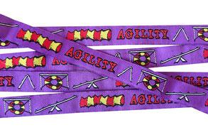 Agility Borte Hunde Webband Hund