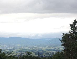 6/8PM:曇っていてもくっきりと町の様子がわかりました。