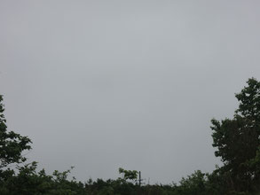 6/9AM:今朝は町が見えませんでした・・・