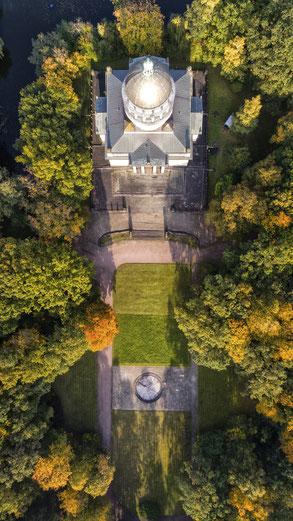 Mausoleum Dessau, Drohne