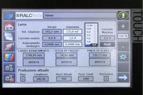 RALC ITALIA - Kronos, pannello operatore