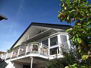 Ferienwohnung unterm Dach mit Balkon