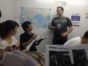様々な外国人の講師陣と、老若男女問わず楽しめるカフェのようなサークルのような名古屋栄の格安英会話教室
