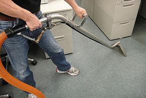 プロの絨毯カーペットクリーニング技術