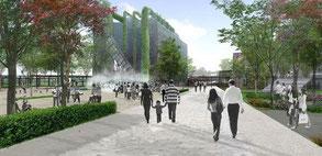 上海の公園改修プロポーザル
