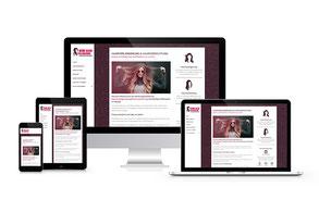 Webdesign: Haarverlängerung & -verdichtung in Leipzig von deiner HairDreams-Partnerin