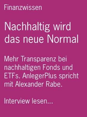 PDF-Download Interview Nachhaltigkeit