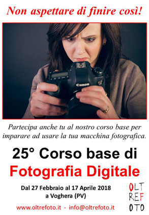 22° CORSO BASE FOTOGRAFIA  2016