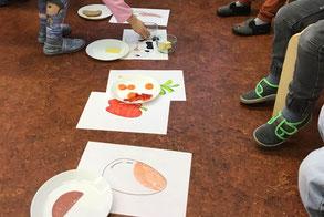 Lebensmittelgruppen kennenlernen © S. Wiebach