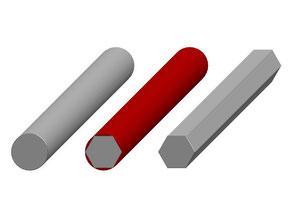 素材から引抜(塑性加工)の事例