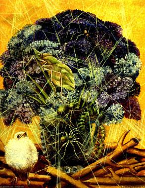 Peinture de Frida Kahlo, Le Poussin