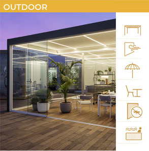 Outdoor: tende da sole, pergole