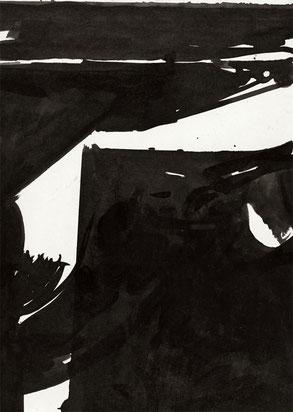 Heiner Blumenthal l Untitled l 2008 l 29,7 x 21 cm ink drawing on paper