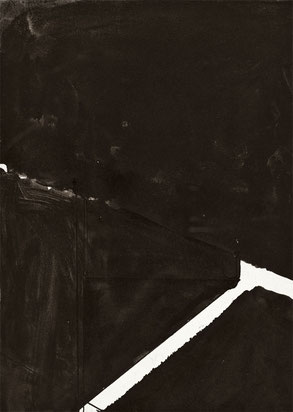 Heiner Blumenthal l Untitled, 2008  l  29,7 x21 cm ink drawing on paper