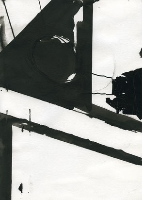 Heiner Blumenthal l Untitled l 2016 l 29,7 x 21 cm ink drawing on paper