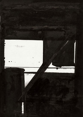 Heiner Blumenthal l Untitled  l  2008, 29,7 x 21 cm ink drawing on paper