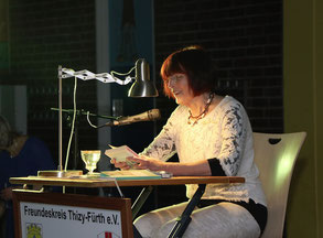 Lesung in Zotzenbach im roten Haus - eine jährliche Tradition mit viel Freude und Freunden - November 2018 - Zeitungsbericht Odenwälder Zeitung.
