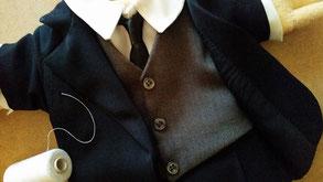 4-teiliger Anzug für eine Handpuppe...