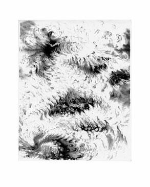 Matthias-Wyss-Kupferstich-Kaltnadel-Copper-Engraving-Drypoint-Cycle-2008–2009-Printing-Plate-20X25-Cm-N°22