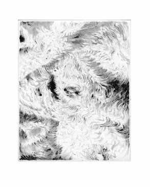 Matthias-Wyss-Kupferstich-Kaltnadel-Copper-Engraving-Drypoint-Cycle-2008–2009-Printing-Plate-20X25-Cm-N°19