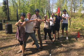 Archery Tag, Arrow Tag, Archery Tag für Firmen, teamevent.de, Teamevent, Firmenevent, Betriebsausflug, Schnurstracks, Teambuilding