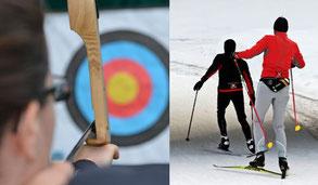 Biathlon, Biathlon für Firmen, teamevent.de, Teamevent, Firmenevent, Betriebsausflug, Schnurstracks, Teambuilding