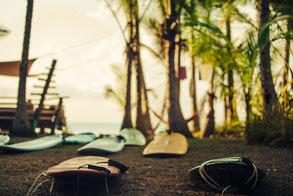 Versteckter sonniger Beachbreak