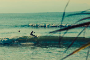 Einsamer Surfspot in Costa Rica