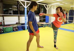 キックボクシング パーソナルトレーニング