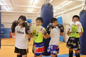 湘南格闘クラブ キッズクラス