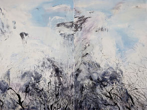 净界之五六 PURE KINGDOM 5&6 150X200CM   布面油画  OIL ON CANVAS 2011