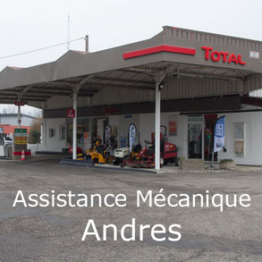 Assistance Mécanique Andres - Station TOTAL Fellering Alsace