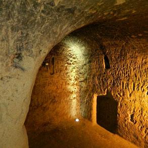 souterrain médiéval du Castela